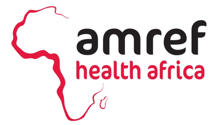 AMREF Health Africa logo linking to their website