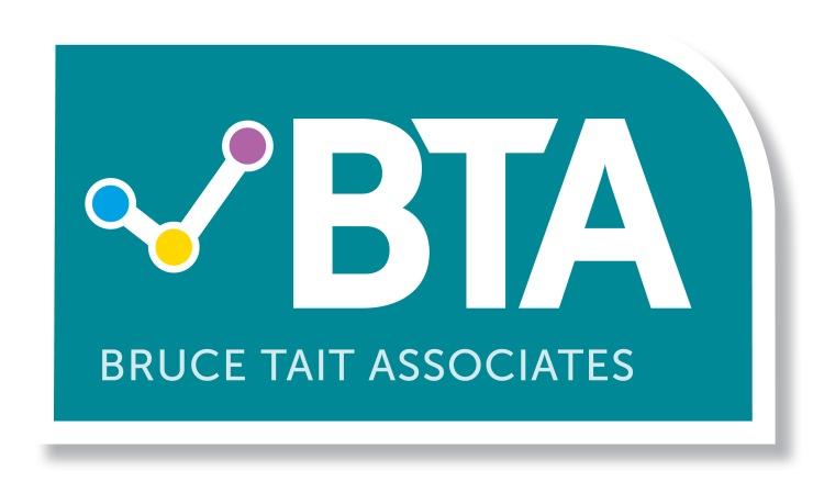 Bruce Tait Associates logo, linking to their website