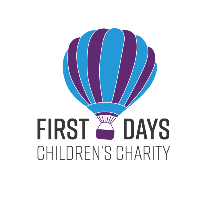 First Days Children's Charity logo linking to their website