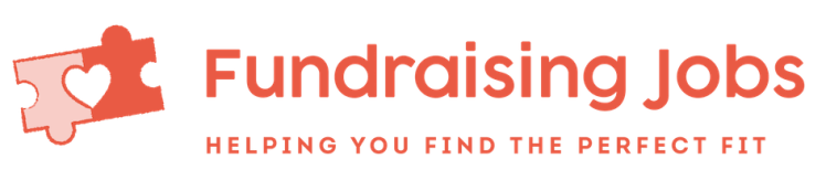 Fundraising Jobs logo, linking to their website