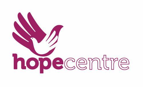 Hope Centre logo linking to their website