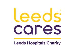 Leeds Hospitals Charity logo linking to their website