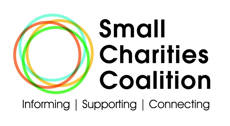 Small Charities Coalition logo, linking to their website