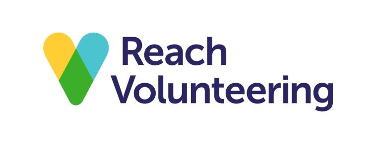 Reach Volunteering logo linking to their website
