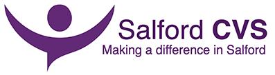 Salford CVS logo linking to their website