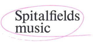 Spitalfields Music logo linking to their website