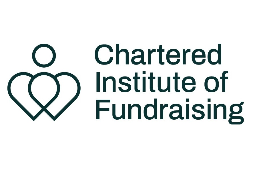 Chartered Institute of Fundraising logo, linking to their website