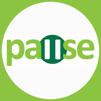Pause logo linking to their website
