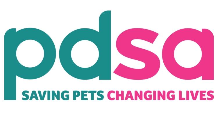 PDSA logo linking to their website
