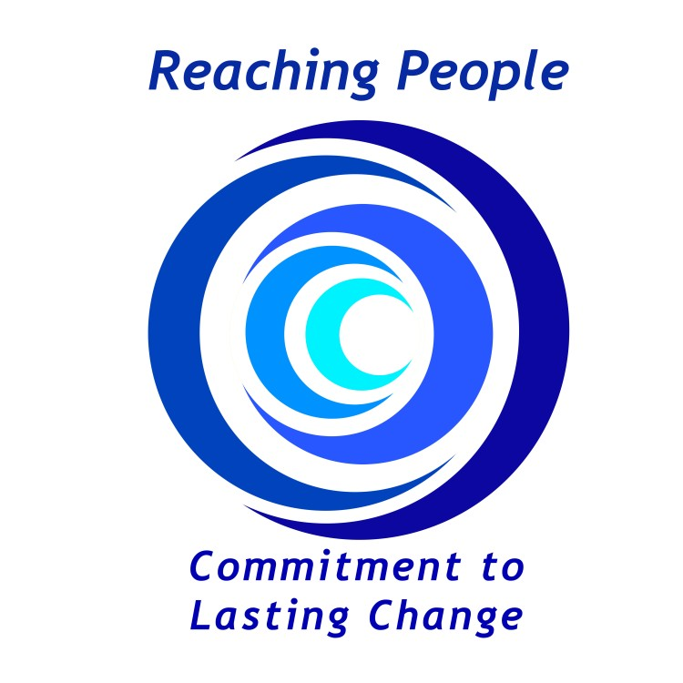 Reaching People logo linking to their website