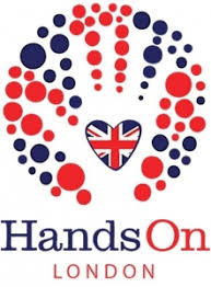 HandsOn London logo linking to their website