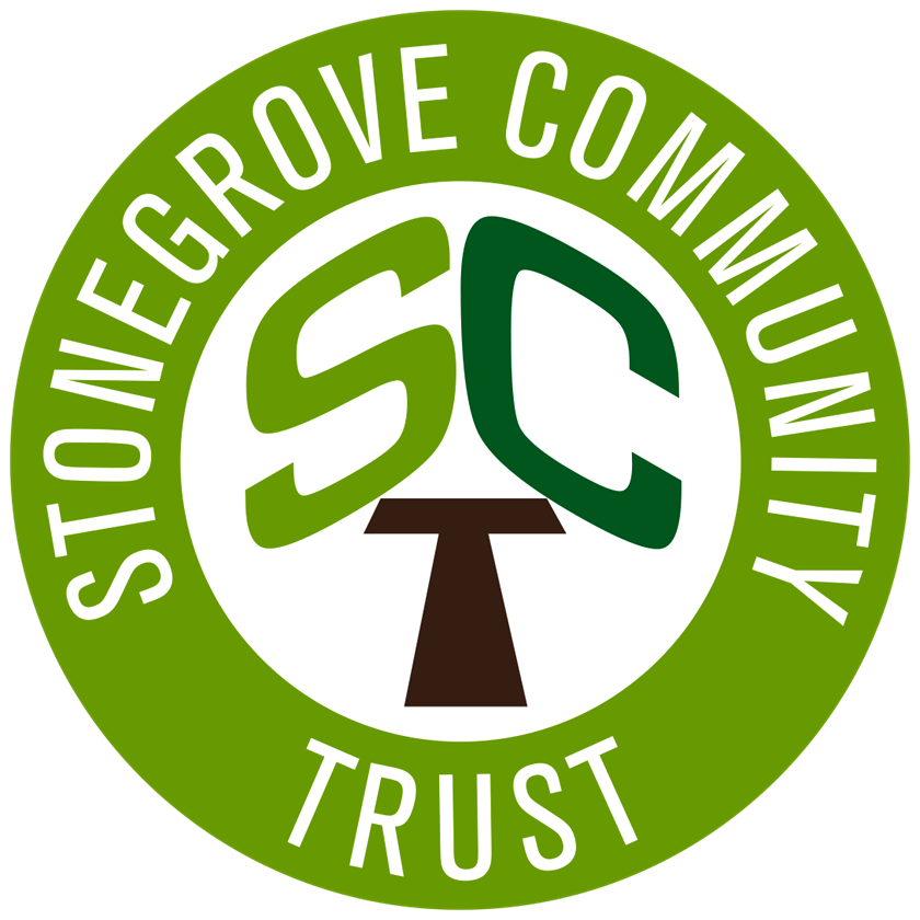 Stonegrove Community Trust logo linking to their website