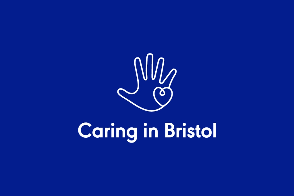 Caring in Bristol logo linking to their website