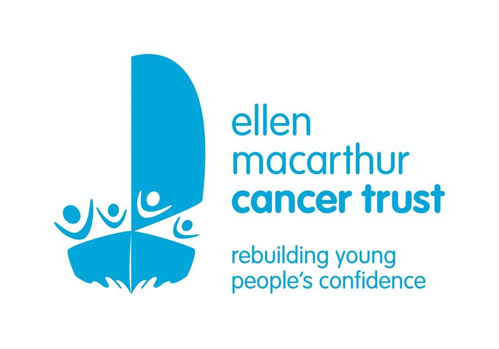Ellen Macarthur Cancer Trust logo linking to their website