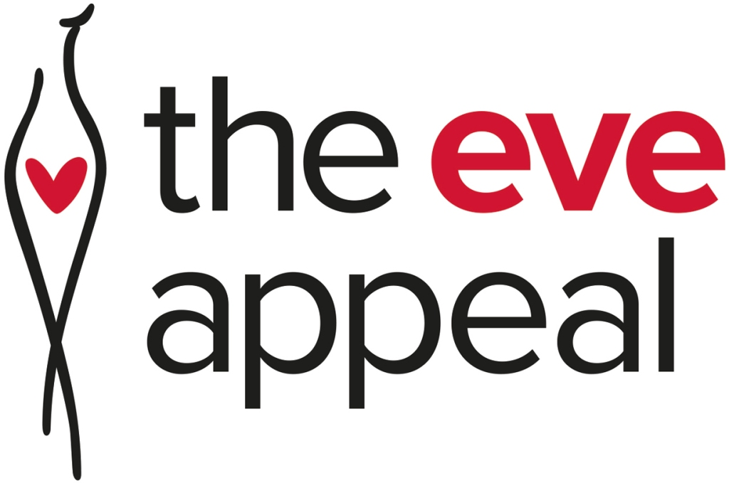 The Eve Appeal logo linking to their website