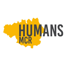 Humans MCR logo linking to their website