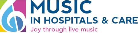 Music in Hospitals and Care logo linking to their website