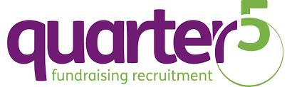 Quarter Five logo, linking to their website
