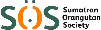 Sumatran Orangutan Society logo linking to their website