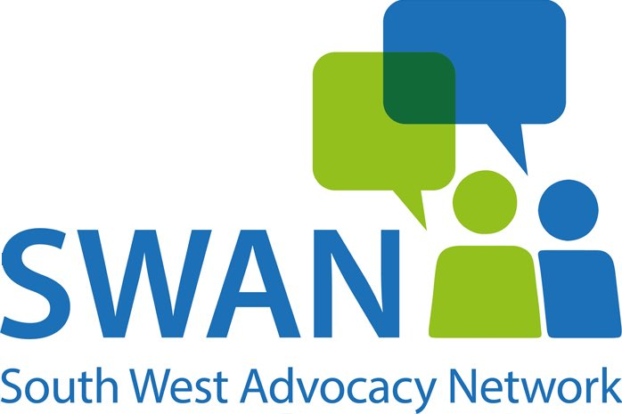 South West Advocacy Network logo linking to their website