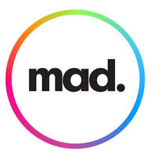 Mad logo linking to their website