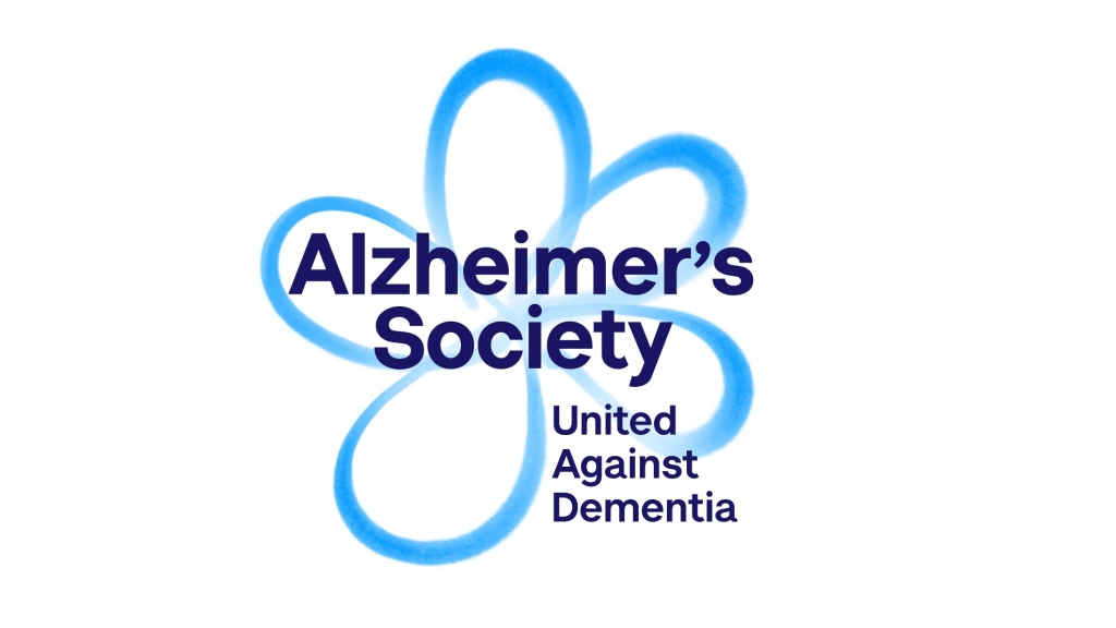 Alzheimer's Society logo linking to their website