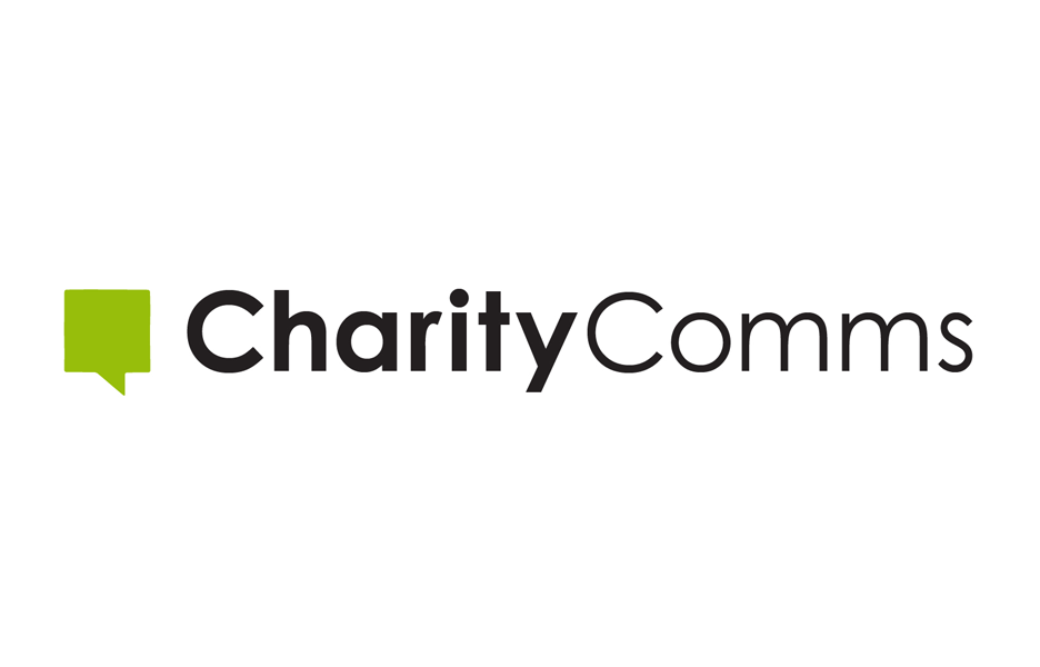 Charity Comms logo, linking to their website