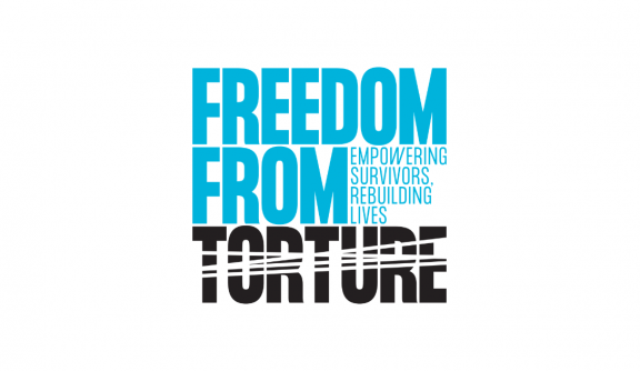 Freedom From Torture logo linking to their website