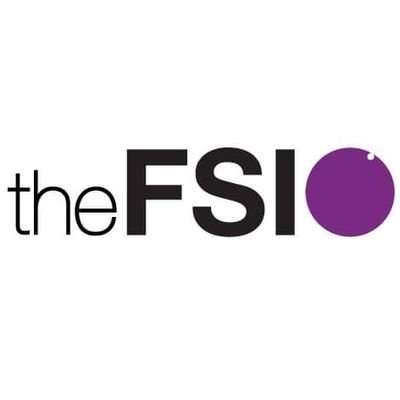 The FSI logo, linking to their website