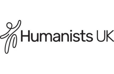 Humanists UK logo linking to their website