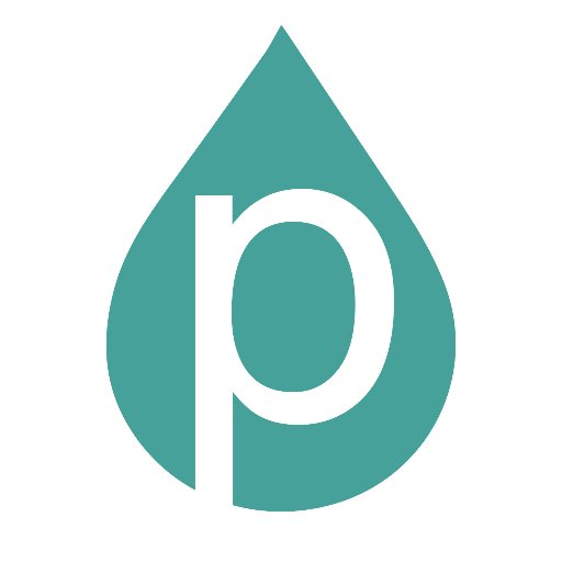 Purity logo, linking to their website