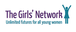 The Girls' Network logo linking to their website