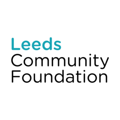 Leeds Community Foundation logo, linking to their website