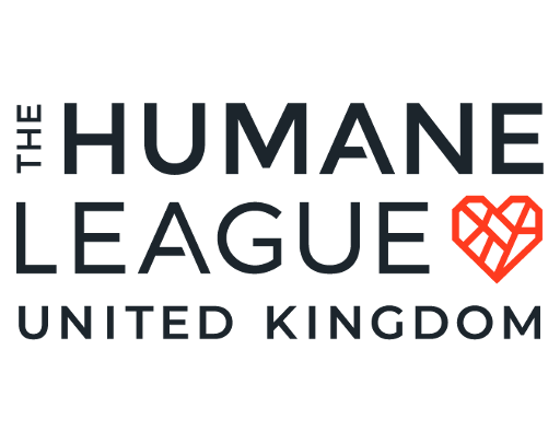 The Humane League logo linking to their website