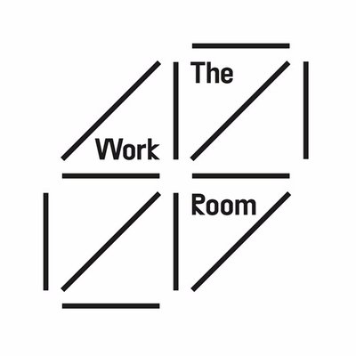 The Work Room logo linking to their website