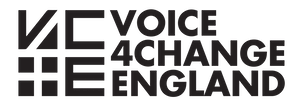 Voice4Change England logo linking to their website