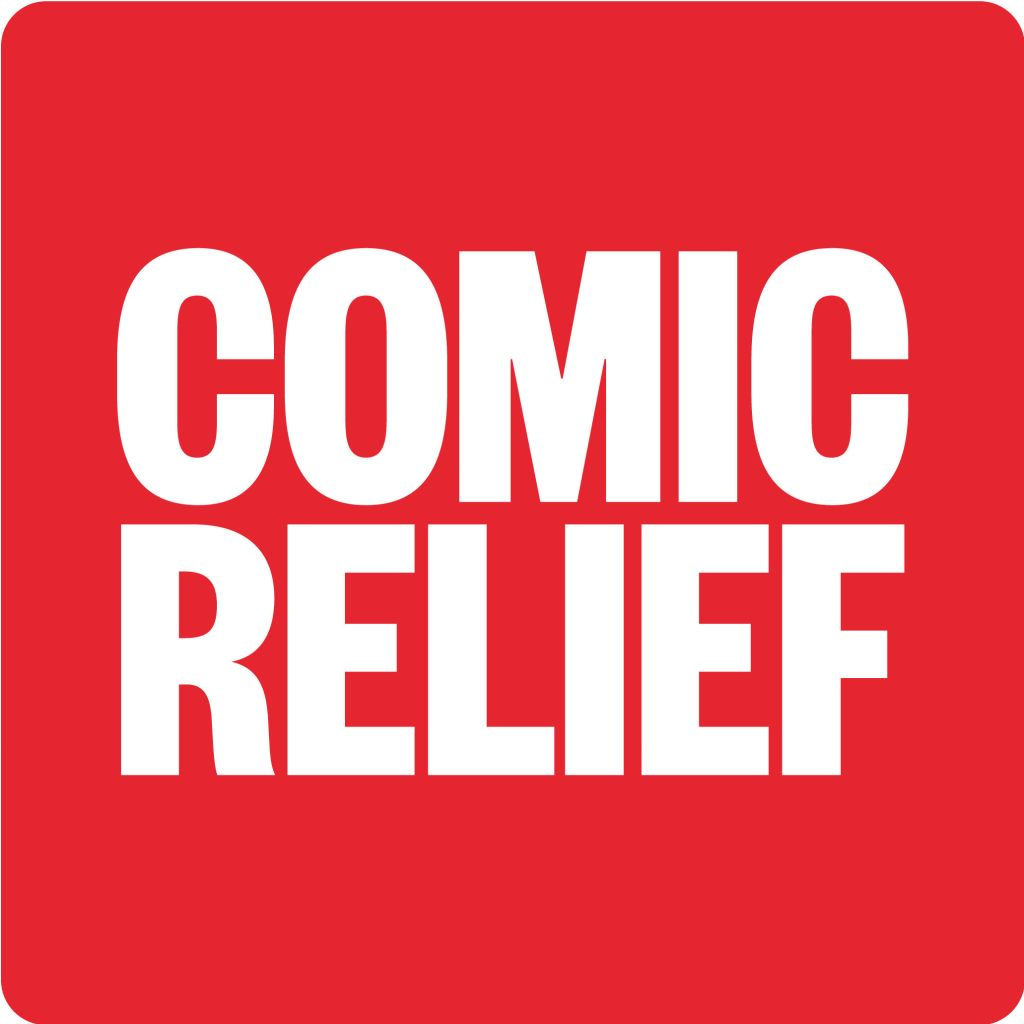 Comic Relief logo linking to their website