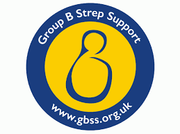 Group B Strep Support logo linking to their website