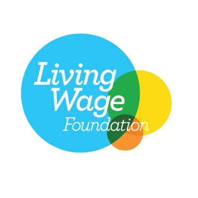 Living Wage Foundation logo linking. totheir website