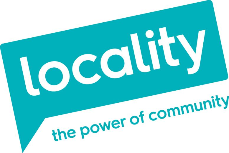 Locality logo linking to their website