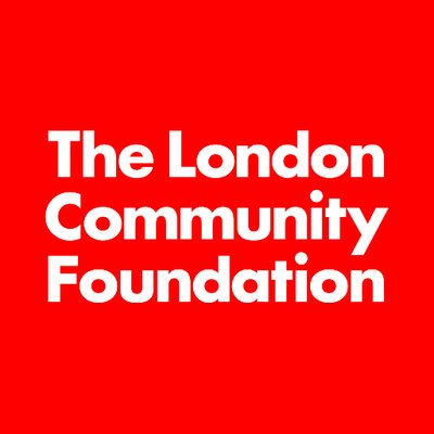 The London Community Foundation logo, linking to their website
