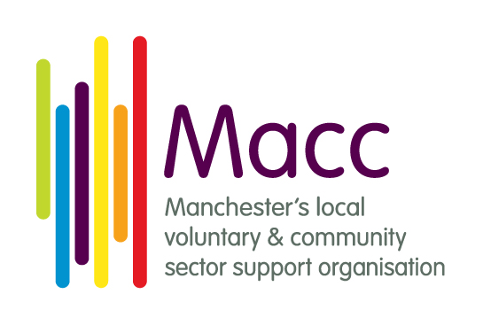 Manchester Community Central logo linking to their website
