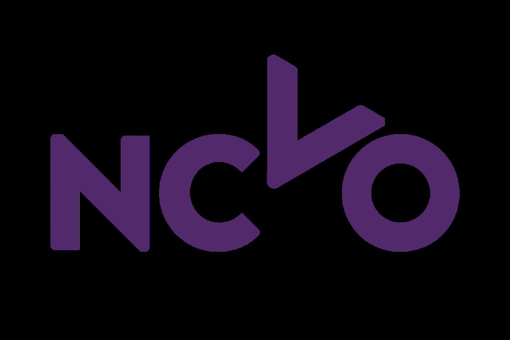 NCVO logo, linking to their website