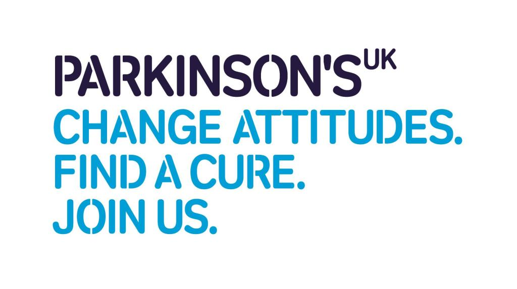 Parkinson's UK logo linking to their website