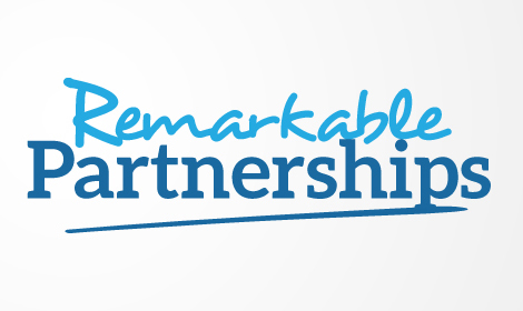 Remarkable Partnerships logo, linking to their website