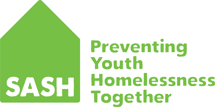 SASH (Safe and Sound Homes) logo linking to their website