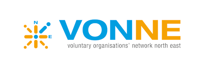 Voluntary Organisations' Network North East logo linking to their website