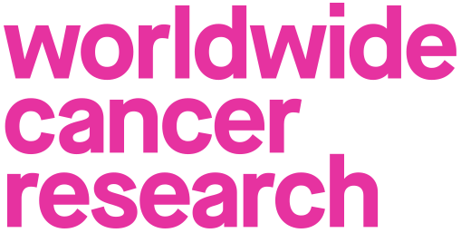Worldwide Cancer Research logo linking to their website