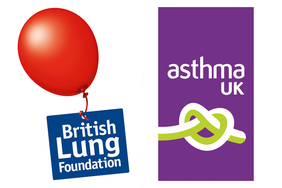 Asthma UK and British Lung Foundation Partnership logo linking to the Asthma UK website