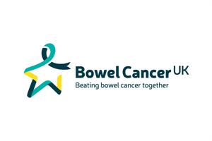 Bowel Cancer UK logo linking to their website